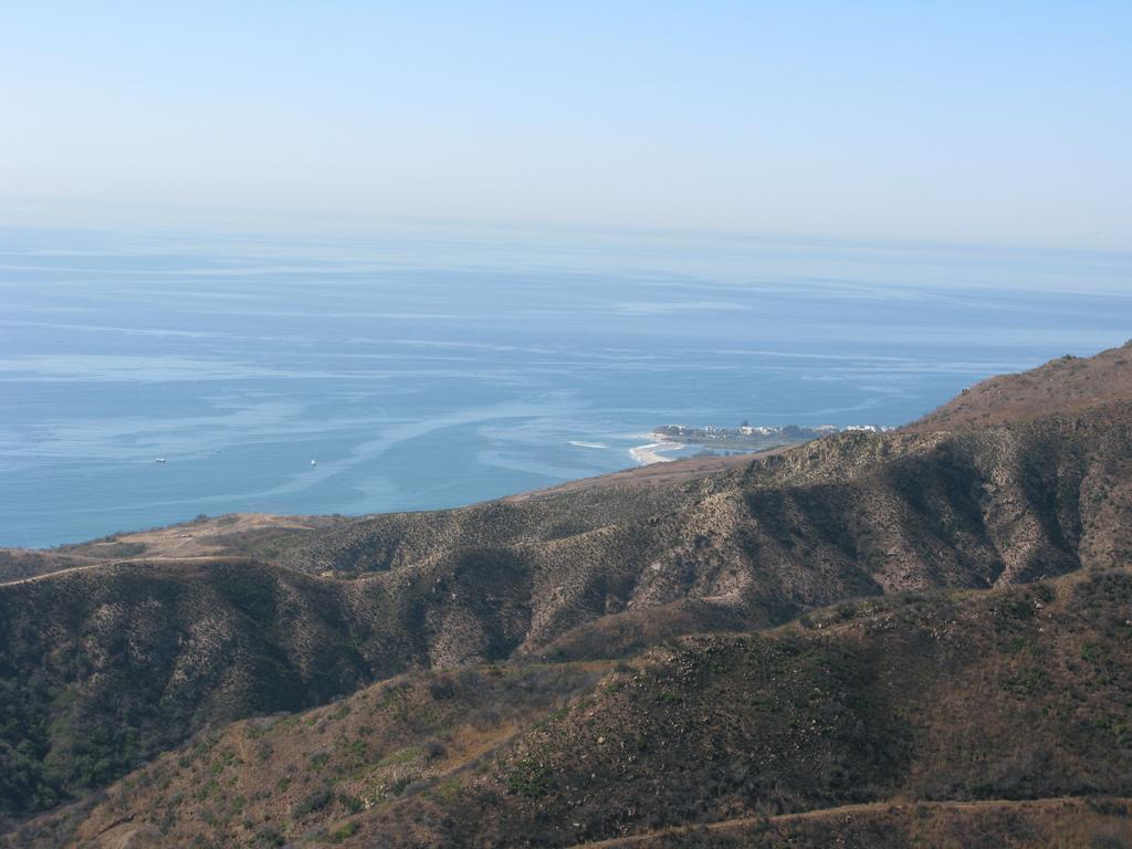 Las Flores Canyon Road