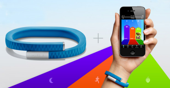 L'application Jawbone est disponible sur l'Apple Store, Android